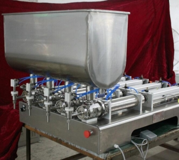 Custom Made Semi-Automatic Piston Filling System-22