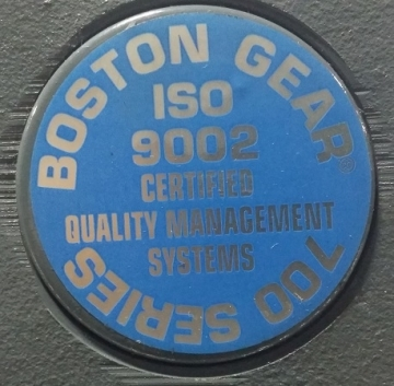 BOSTON GEAR 700 Series F72120B5J Réducteur de vitesse Ratio 20:1-7