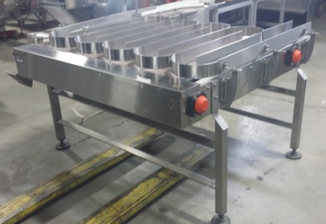 STORCAN Stainless Steel Accumulation Table 60'' X 54''-2