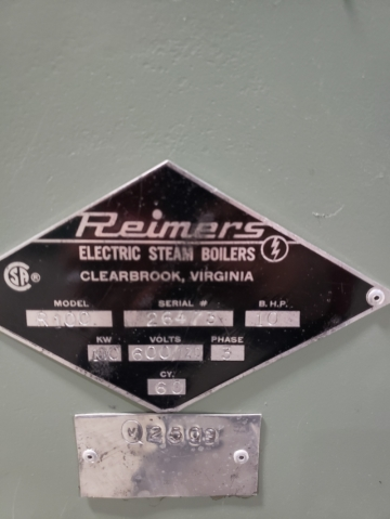 R100 by REIMERS Electric Steam Boiler-4