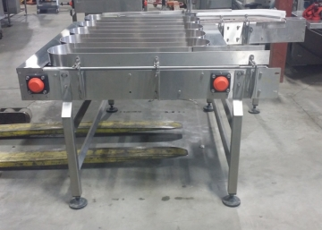 STORCAN Stainless Steel Accumulation Table 60'' X 54''-4
