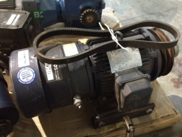 LEESON N182T17EB44 electric motor with brake-1