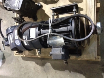 LEESON N182T17EB44 electric motor with brake-2