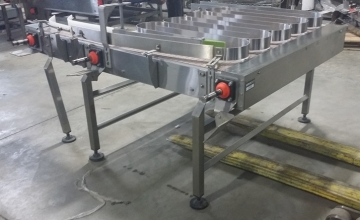 STORCAN Stainless Steel Accumulation Table 60'' X 54''-3