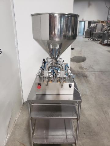 Custom Made Semi-Automatic Piston Filling System-3