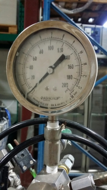 FIKE PARR hydrogenator pressure reaction-2