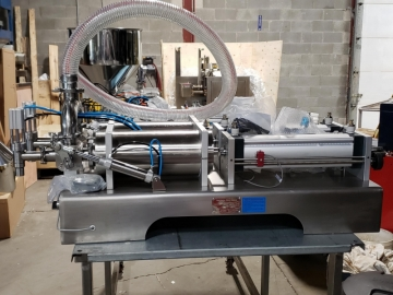 Custom Made Semi-Automatic Piston Filling System-19