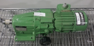 LENZE 12.602.10.13 AC Motor with Gearbox 0.25kW-4