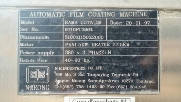 N.R. INDUSTRIES RAMA NR COTA 39 Coating pan-9