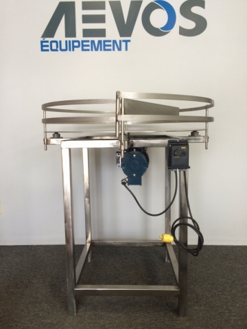 NEW - 48'' Stainless Steel Accumulation Table-1