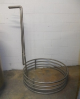 SS Coil 3/4'' for drum or tank