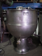 GROEN PT40SP 40 Gallon ( 151 liters ) Stainless Steel Kettle