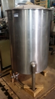 Stainless Steel single wall tank - 400 liters
