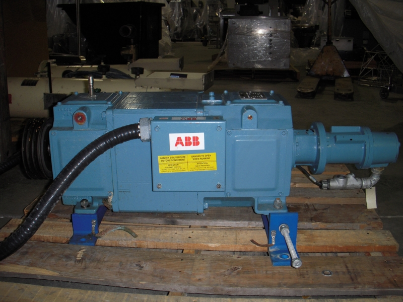 Abb Dmp 132 4m Direct Current Motor With Tachometer